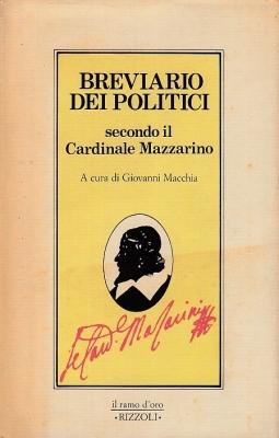 Breviario dei politici secondo il Cardinale Mazzarino