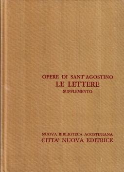 Opera Omnia di Sant'Agostino XXIII/A Le Lettere Supplemento 1*- 29*