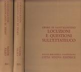 Opera Omnia di Sant'Agostino XI/1 XI/2 Locuzioni e questioni sull'ettateuco