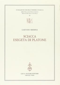Sciacca esegeta di Platone