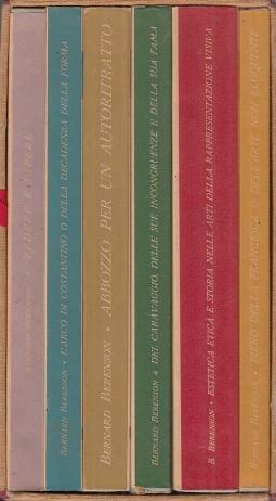 Vedere e Sapere-L'arco di Costantino o della decadenza della forma-Abbozzo per un autoritratto-Del Caravaggioa-Estetica etica e storia-Piero della Francesca o dell'arte non eloquente