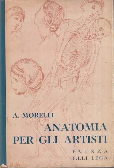 Anatomia per gli artisti - Morelli Angelo