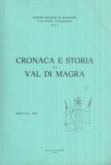 Cronaca e storia di Val di Magra. Anno VII - 1978