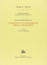 Concetto e fondamento della filosofia