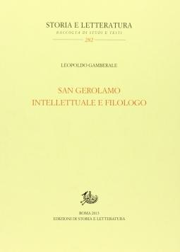 San Gerolamo intellettuale e filologo