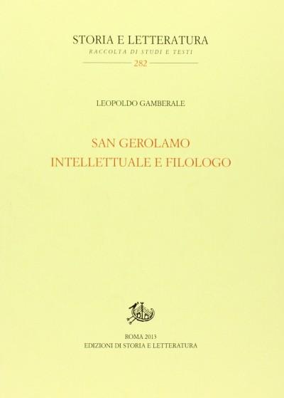 San gerolamo intellettuale e filologo - Gamberale Leopoldo