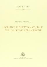 Politica e diritto naturale nel De Legibus di Cicerone