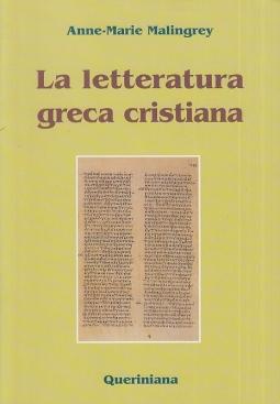 La letteratura greca cristiana