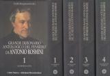 Grande dizionario antologico del pensiero di Antonio Rosimini. 4 Volumi opera completa