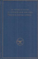 Le più belle pagine di Giordano Bruno scelte da Luigi Salvatorelli