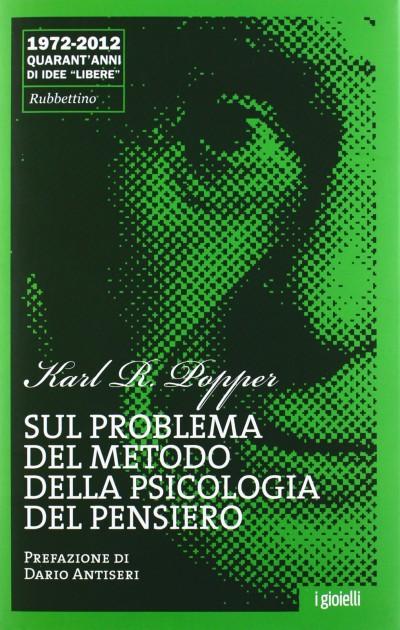 Sul problema del metodo della psicologia del pensiero - Popper R. Karl