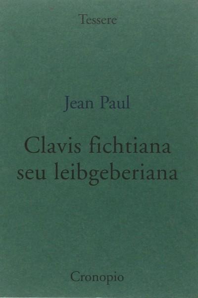Clavis fichtiana seu leibgeberiana - Paul Jean