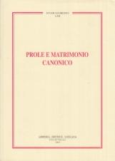 Prole e matrimonio canonico