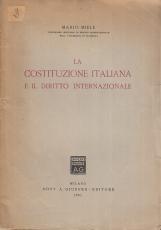 La costituzione italiana e il diritto internazionale