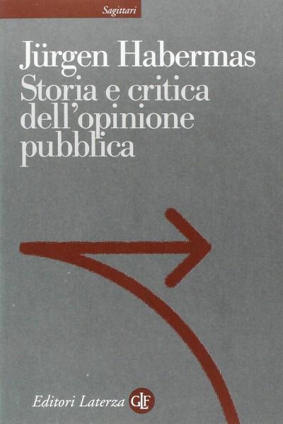 Storia e critica dell'opinione pubblica - Habermas Jurgen