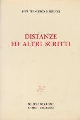 Distanze ed altri scritti