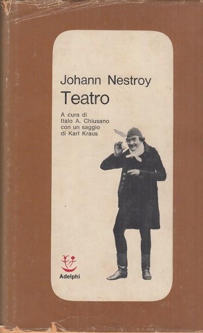 Teatro - Nestroy Johann