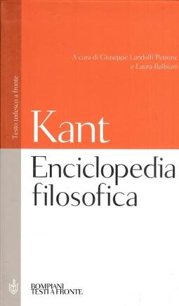 Enciclopedia filosofica. Testo tedesco a fronte