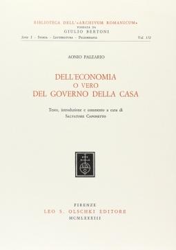 Dell'economia o vero del governo della casa