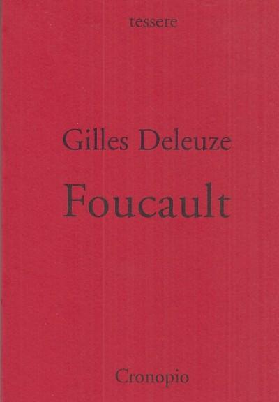 Foucault - Deleuze Gilles