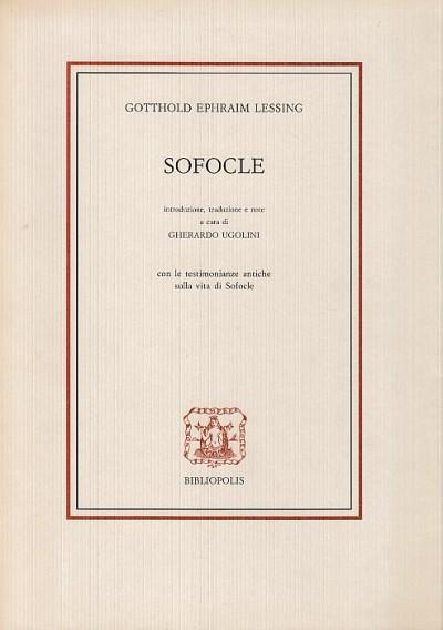Sofocle - Gotthold Ephraim Lessing