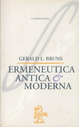 Ermeneutica antica e moderna