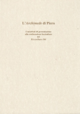 L'Archimede di Piero [Edizione Facsimile del Riccardiano 106]