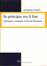 In principio era il fine. Ontologia e teologia in Nicolai Hartmann