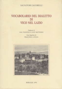 Vocabolario del dialetto di Vico nel Lazio