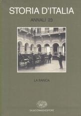 La Banca. Storia d'Italia Annali 23
