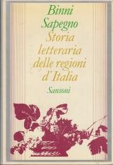 Storia letteraria delle regioni d'Italia