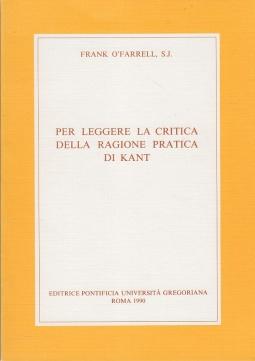 Per leggere la critica della ragione pratica di Kant
