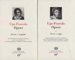 Opere I Poesie e tragedie Opere II Prose e Saggi
