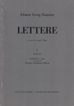 Lettere I 1751-1759