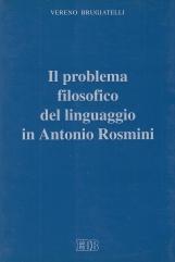 Il problema filosofico del linguaggio in Antonio Rosmini