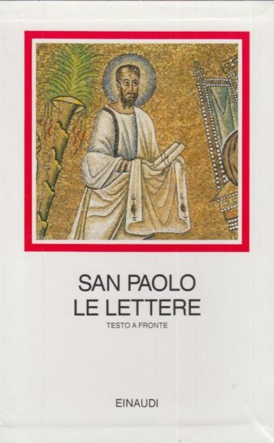 San paolo le lettere testo a fronte - Carena Carlo (a Cura Di)