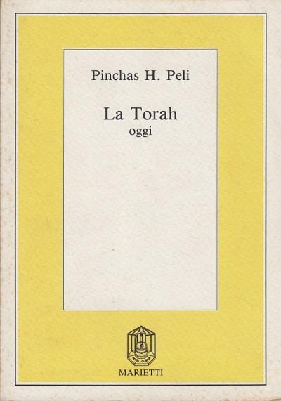 La torah oggi - Peli H. Pinchas