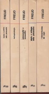 L'interpretazione dei Sogni, Storia e sviluppo della Psicologia, Psicoanalisi e sessualit?, Metapsicologia, Tecnica e pratica della psicoanalisi