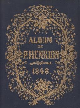 Album de Paul Henrion 12 Romances Chansonnettes e Melodies Dessins de Jules David