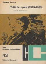 Tutte le opere 1923-1935. Secondo volume: Architettura