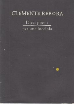Dieci poesie per una lucciola.