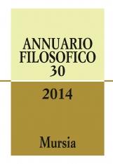 Annuario Filosofico 30. 2014