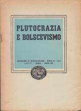 Plutocrazia e bolscevismo