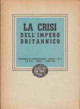 La crisi dell'impero britannico