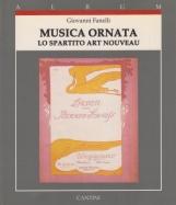 Musica ornata Lo Spartito Art Nouveau