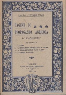 Pagine di Propaganda agricola. Vol. 2