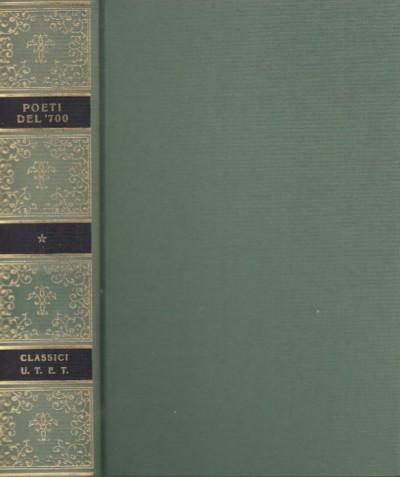 Poeti del settecento - Solmi Raffaella (a Cura Di)