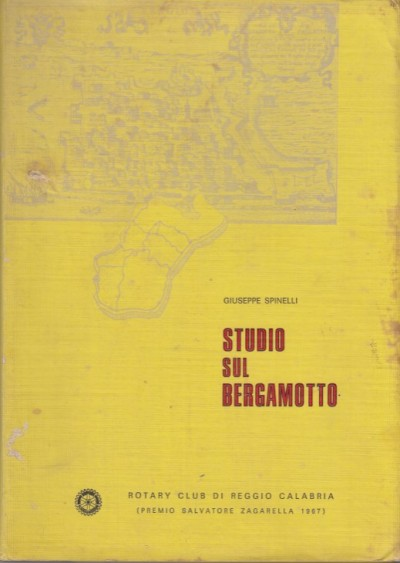 Studio sul bergamotto - Spinelli Giuseppe