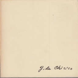 Giorgio De Chirico, I De Chirico di De Chirico
