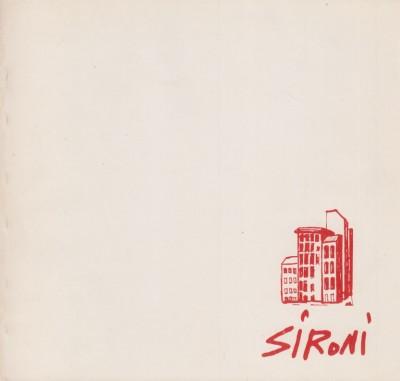 Mario sironi. galleria civica d'arte moderna - Ragghianti L. Carlo (prefazione Di)